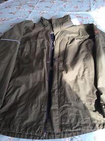 Men's timberland jacket large