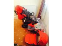very nice hauck viper 3-wheeler pushchair/Parm for sale ONO/offers