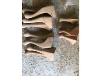 Queen Ann furniture legs several sets various sizes £6 a set of 4
