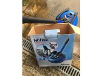 Nilfisk Patio Plus and drain cleaning hose