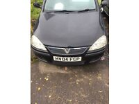 Vauxhall corsa 04 plate