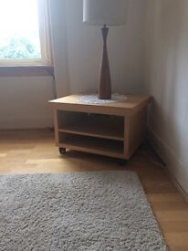 Practical TV or Plant Table with Wheels