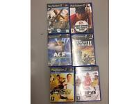 6 PS2 Games ---- £5