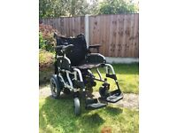 Electric Wheelchair For Sale - Nearly new
