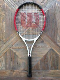 Children's Titanium Wilson Tennis Racket (Roger Federer 25)