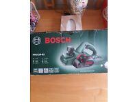 Bosch electric plane.