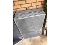 Black limestone paving slabs £10 each