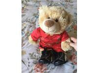 Build a bear with Liverpool kit and boots