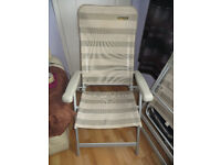 garden chair, Quest Elite garden chair. Folding garden chair.