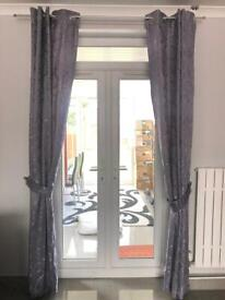 Imported from Germany - Grey curtains