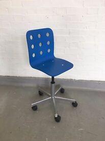Desk Chair Blue