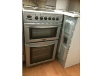 Belling 50cm electric cooker silver £115