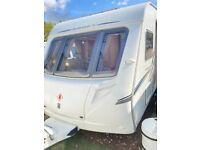 Abbey gts 420 island bed caravan