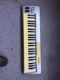 M-audio Keystation 49 USB midi controller keyboard