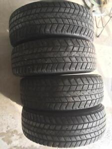 4 pneus d hiver 195/65r15 gt radial