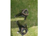 Secondhand car axle stands