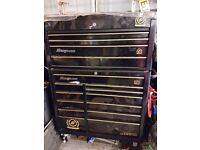 Snap on Tool Box 50th anniversary in black