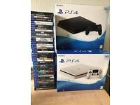 Brand new and second user PS4 500GB 1TB all with warranty and receipt from £135 games from£5