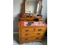 Vintage Edwardian Dressing Table