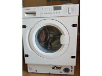 Bosch Logixx 7 intergrated Washing Machine. AWARD winning appliance 7KG 1400 spin