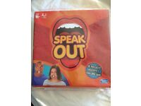 Speak out game BNIB