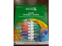 Acrylic paint 24 colours