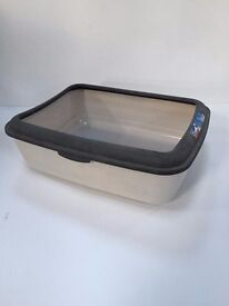 Classic large cat litter tray with rim trixie rrp £9.99
