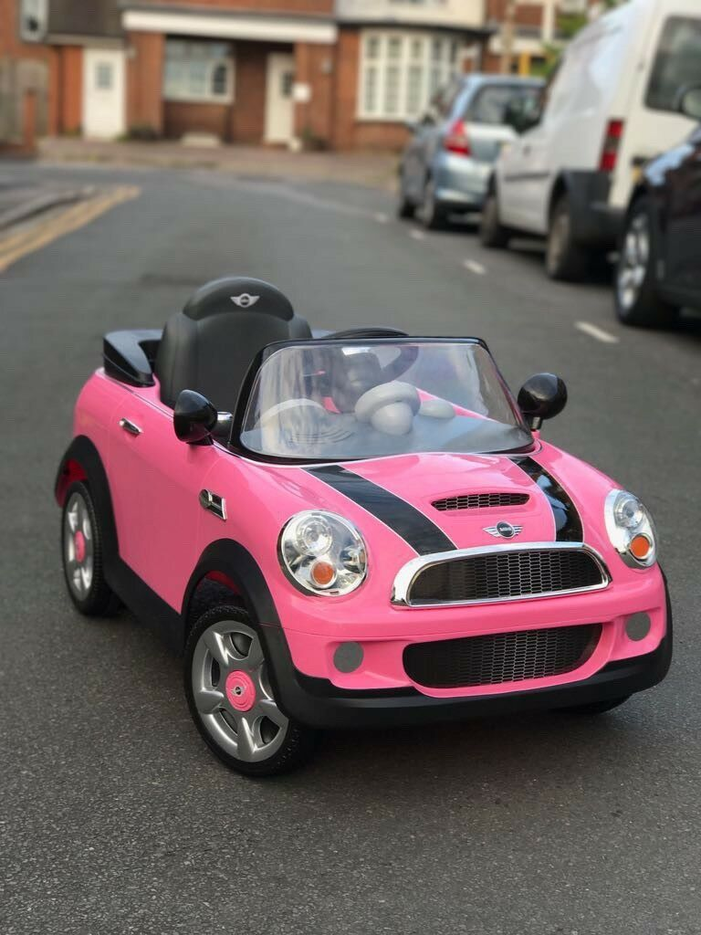 Brand New Electric Mini Cooper Pink In Reading