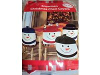 CHRISTMAS CRACKERS, CHAIR COVERS, NATIVITY FIGURES , STOCKING, TOYS, CD'SETC
