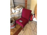 Pink Dressing Room Chair