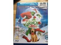 The Grinch Stole Christmas Blue Ray