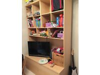 Ikea storage/TV unit.