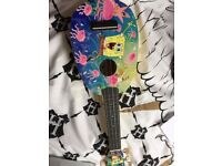 SPONGEBOB Ukulele for sale with case!
