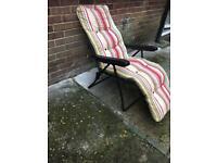 Racliner garden chair
