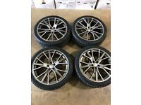 """Brand new set of 22"""" alloy wheels and tyres Audi"""