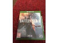 Battlefield x box one game