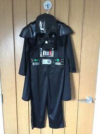 Star Wars Sound Effect Darth Vader Fancy Dress Costume