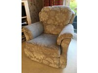 2 seat fabric sofa - 1 arm chair - 1 power recliner chair (3 x piece suite)