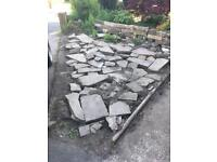 Free Yorkshire stone pieces various sizes
