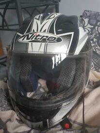 Nitro junior racing helmet N325-VX. Size s