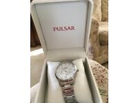 Pulsar watch mans watch unwanted gift for sale never been used asking £60