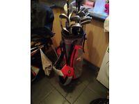 2 golf sets Taylor made bag