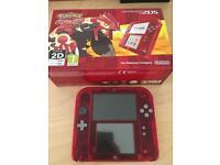 Nintendo 2DS Red Transparent