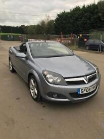 Vauxhall Astra convertible 2008 86 k miles not Oct 2018 loads of history 1.8 petrol manual