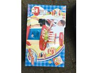 Brand New Kids kitchen in compact play and pack box