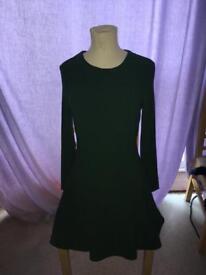 Slim long sleeved dress