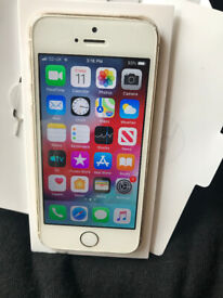 Gold 16GB iPhone 5s on O2, Giffgaff, Tesco Mobile, GT Mobile