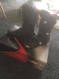 New sidi bike boots