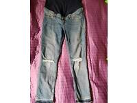 Maternity jeans perfect fit and condition