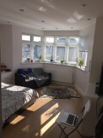 Double bedsit in a new 3 bed flat in Golders green NW2